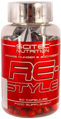 Scitec Nutrition Fat Burner ReStyle, 60 Kapseln, 1er Pack (1 x 23g)