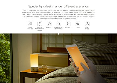 Xiaomi Yeelight Bluetooth Bedside Light Led Dimmable