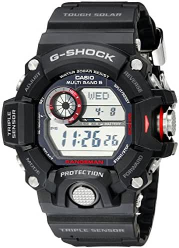 Casio Men's GW-9400-1CR Master of G Digital Quartz Black Solar Watch