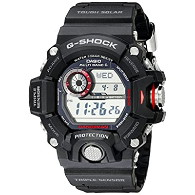 Casio-Mens-GW-9400-1CR-Master-of-G-Digital-Quartz-Black-Solar-Watch