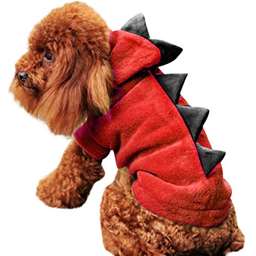 SCHOLIEBEN Pet Dog Puppy Cat Winter Warm Clothes Sweater Costume Jacket Coat Apparel Christmas Decorations Xmas Gifts Presents Cute Lovely