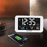 AcuRite Intelli-Time Alarm Clock with USB