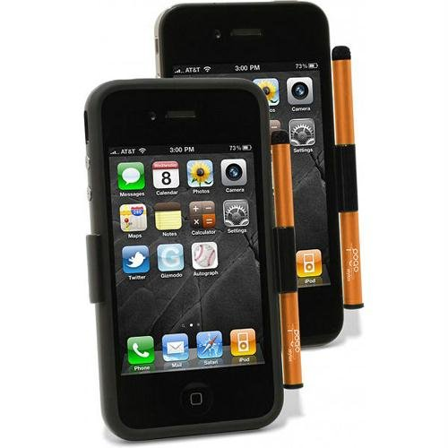Ten One Design Pogo Stylus for iPhone 4 - Burnt Orange