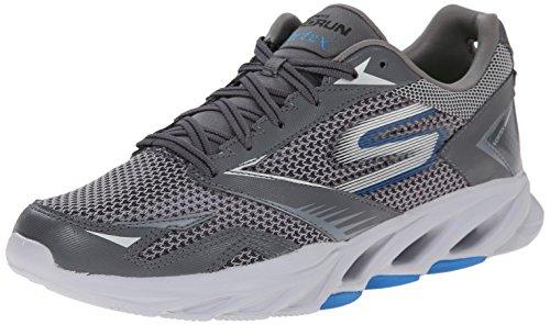 Skechers Performance Men's Go Run Vortex Running Shoe,Charcoal/Blue,8.5 M US