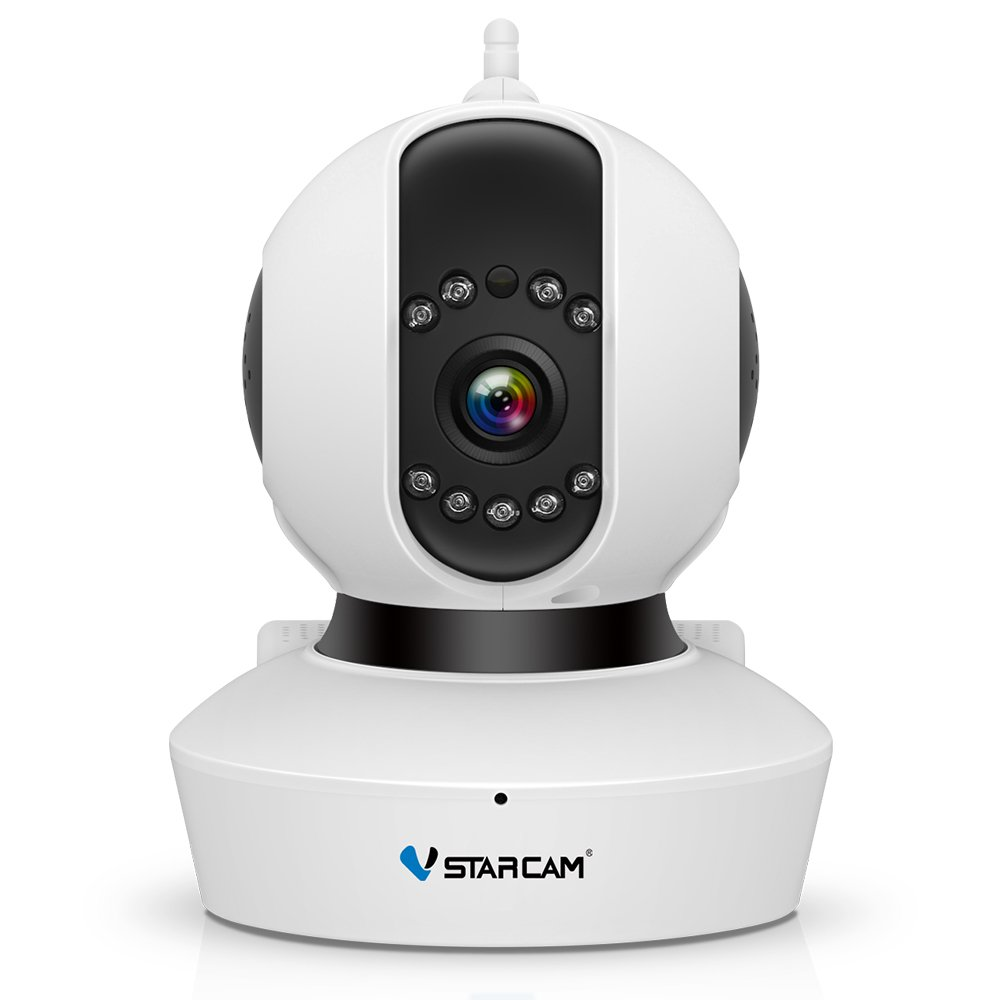 VSTARCAM HD IP Camera, Wireless IP Camera with Two-way Audio, Night Vision Camera, 2.4GHz & 720P Camera for Pet Baby Monitor, Home Security Camera Motion Detection Wifi Indoor Camera