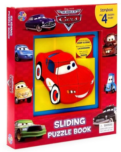 (Disney/ Pixar The World of Cars Sliding Puzzle Book)