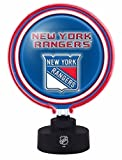 NHL New York Rangers Official Neon Helmet Lamp, Multicolor, One Size