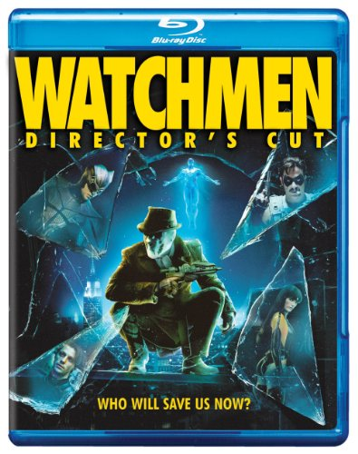 Blu-ray : Watchmen (Special Edition, Director's Cut / Edition, Widescreen, Digital Copy, O-Card Packaging)