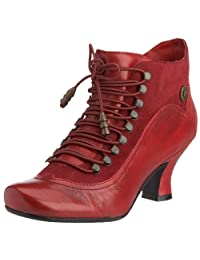 Hush Puppies Vivianna Red Womens Ankle Boots