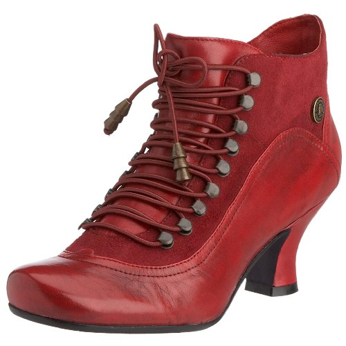 Hush Puppies Vivianna Red Womens Ankle Boots US Size 5