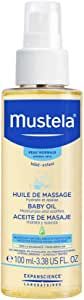 Mustela Baby Massage Oil - for Normal Skin, 3.38 fl.oz