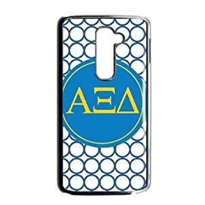 Alpha Xi Delta Circle LG G2 Cell Phone Case Black phone component RT_248721