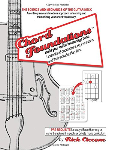 Chord Foundations Guitar Science For Jazz Blues A New And