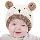 Jshuang Cartoon Cat Soft Child Hat | Baby Child Wear Boy and Girl Knit Cap | Children Cute Soft Hat...