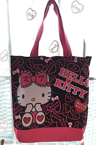 CJB Lovely Sanrio Hello Kitty Shoulder Bag Black Rose (US -