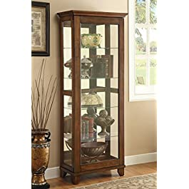 Coaster Home Furnishings Casual Curio Cabinet