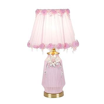 HWH- Lámpara de Mesa de cerámica a Rayas, Pasillo de la Sala ...