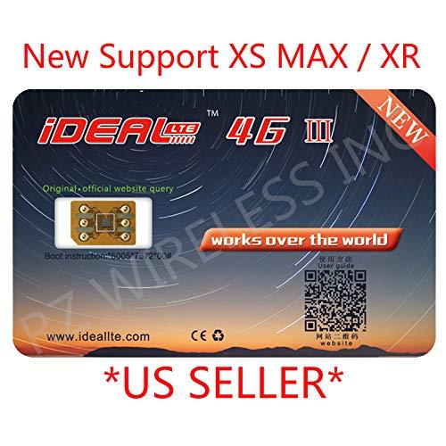 2018 New Ideal 4G III GPP Turbo Sim Card for iPhone Xs MAX/XR iOS