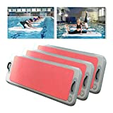 Winnerbe 79x24x4inch Gym Air Track Floor Pad Home Gymnastics Tumbling Inflatable Rolling 110V