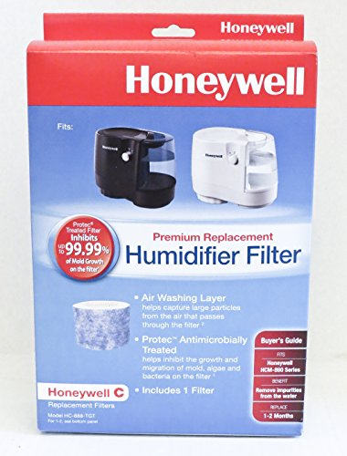 1 X Honeywell C Premium Replacement Humidifier Filter - HC-888 for Honeywell HCM-890 Series