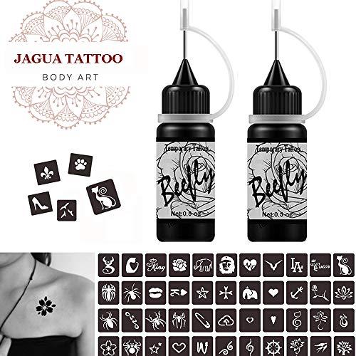 henna temporary tattoo ink