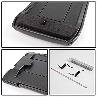 Dark Gray Center Console for 99-07 Chevy Silverado / 2001-2006 Chevrolet Suburban OEM GM Part 19127364 Lid Arm Rest Latch: Automotive