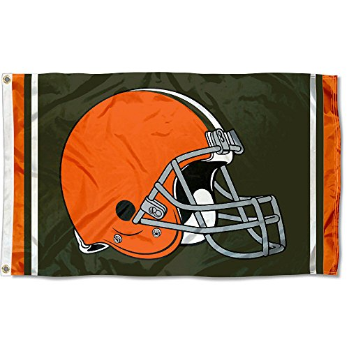 rowns Large NFL 3x5 Flag ()