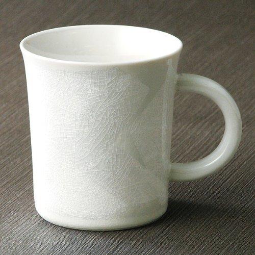 KUTANI YAKI(ware) Coffee Mug Silver Leaf by Kutani