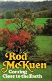 Coming Close to the Earth, Rod McKuen, 0671242989