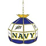 NCAA United States Naval Academy Tiffany Gameroom Lamp, 16''