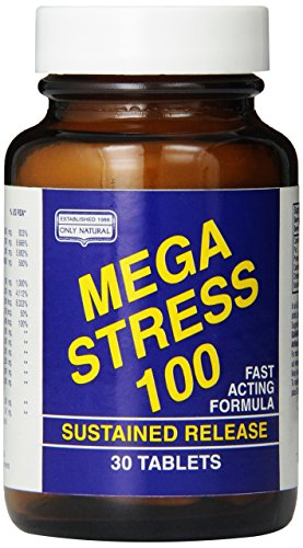 Only Natural Mega Stress 100,  30-Tablets