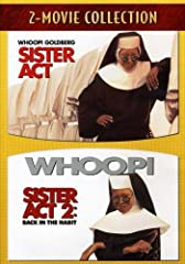 Relive all the fun, laughter, and irresistible music of Sister Act -- the inspired comedy hit that packed pews everywhere! Whoopi Goldberg stars as a sassy, low-rent lounge singer forced to hide out from the mob in the last place on earth any...