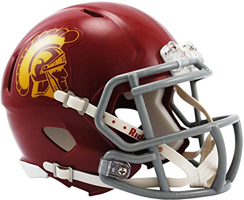 Usc Mini Helmet - Sports Memorabilia Riddell USC Trojans Revolution Speed Mini Football Helmet - College Mini Helmets