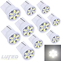 LUYED 10 X 3014 6-EX Chipsets W5W 194 168 2825 Led...