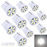 94 toyota corolla parts - LUYED 10 X 3014 6-EX Chipsets W5W 194 168 2825 Led Bulbs,Xenon White(super low current)