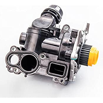 Amazon.com: Water Pump Thermostat Assembly 06H121026DD ...