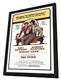 The Sting - 27 x 40 Framed Movie Poster
