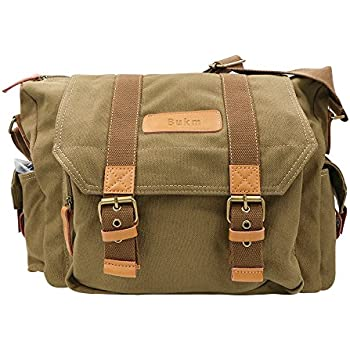 Amazon.com : DSLR Slr Camera Bag, MOACC Grey Digital Video ...