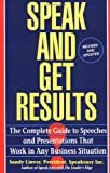 Speak and Get Results, Sandy Linver, 0671893165