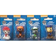 Nickelodeon Paw Patrol Mini Figurine/Cake Toppers ~ set of 4 ~ Rocky, Zuma, Marshall & Chase