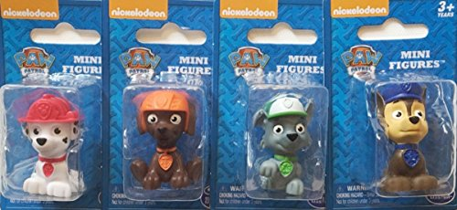 nickelodeon-paw-patrol-mini-figurine-cake-toppers-set-of-4-rocky-zuma-marshall-chase