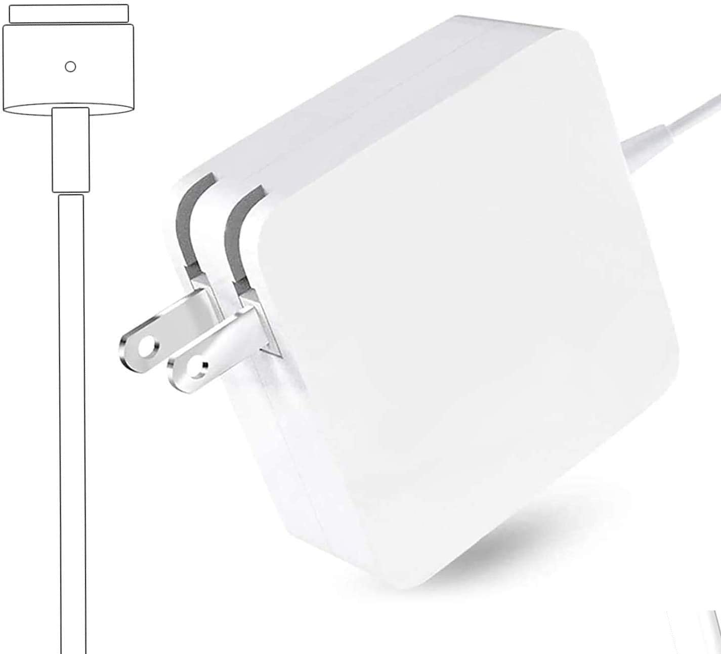 Replacement for Mac Book Pro Charger Ac 85W(T-Tip) Power Adapter with 13 inch 15 inch Retina Display-After Mid 2012