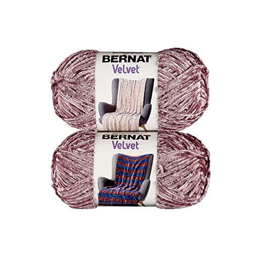 Bernat Velvet Yarn - Shadow Purple - 2 Ball Pack ()