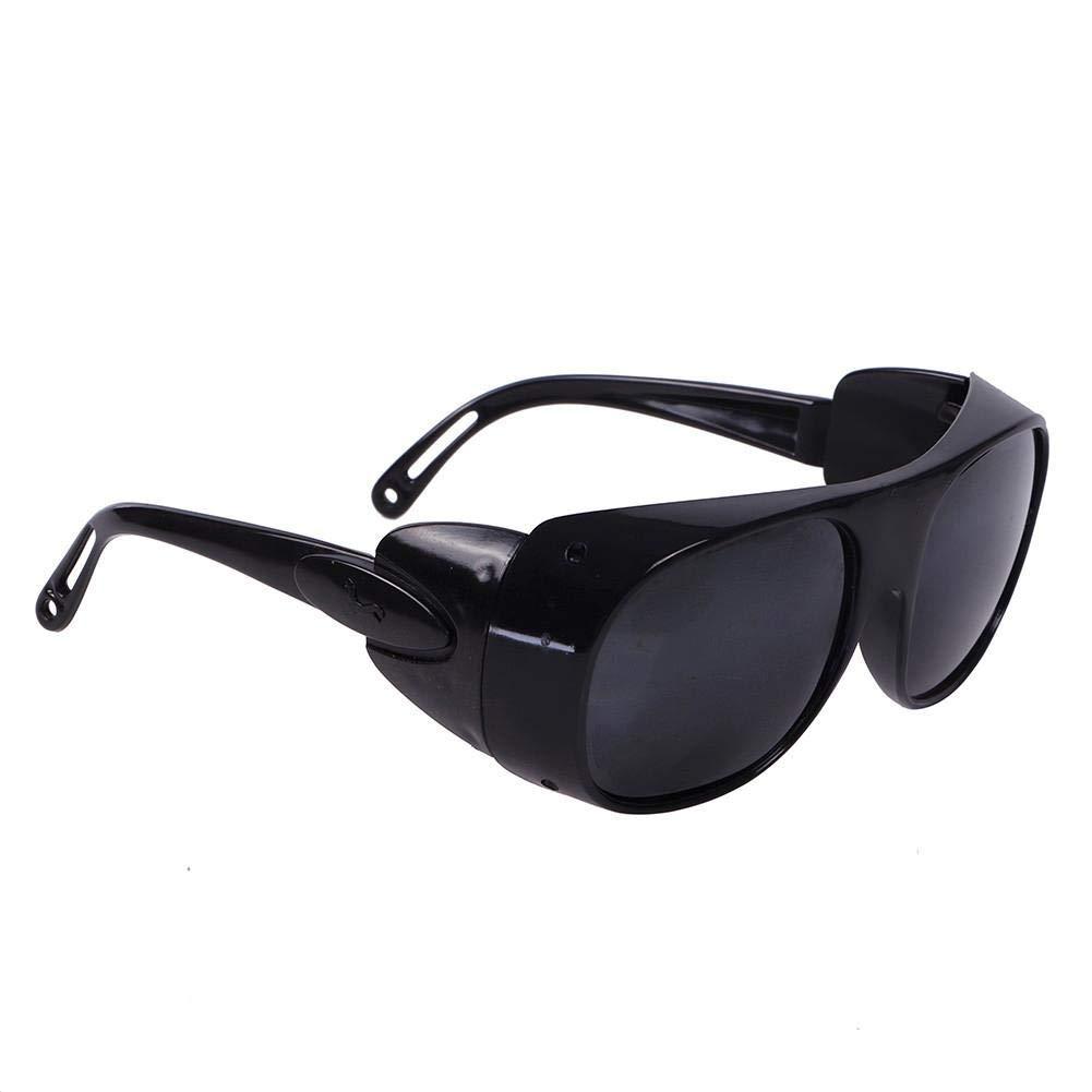 Gafas de soldar Runmind, gafas de seguridad antideslumbrantes para protección del trabajo, a prueba de rayos ultravioletas, radiación infrarroja, 1.97 * 2.36inch, Negro, 1