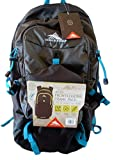 High Sierra 28 Liter Front-Loading Frame Pack - OMAK 28 Urban/Trail Hiking (Hydration Access Ready) (Gray/Blue)