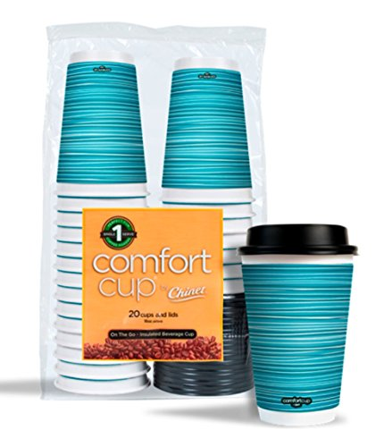 Chinet Comfort 16 Ounce Cups 20 Count