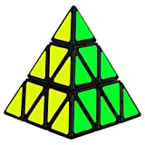 Imcolorful Pyraminx Pyramid Speed Magic Triangle Cube Twisty Puzzle for Intelligence Development