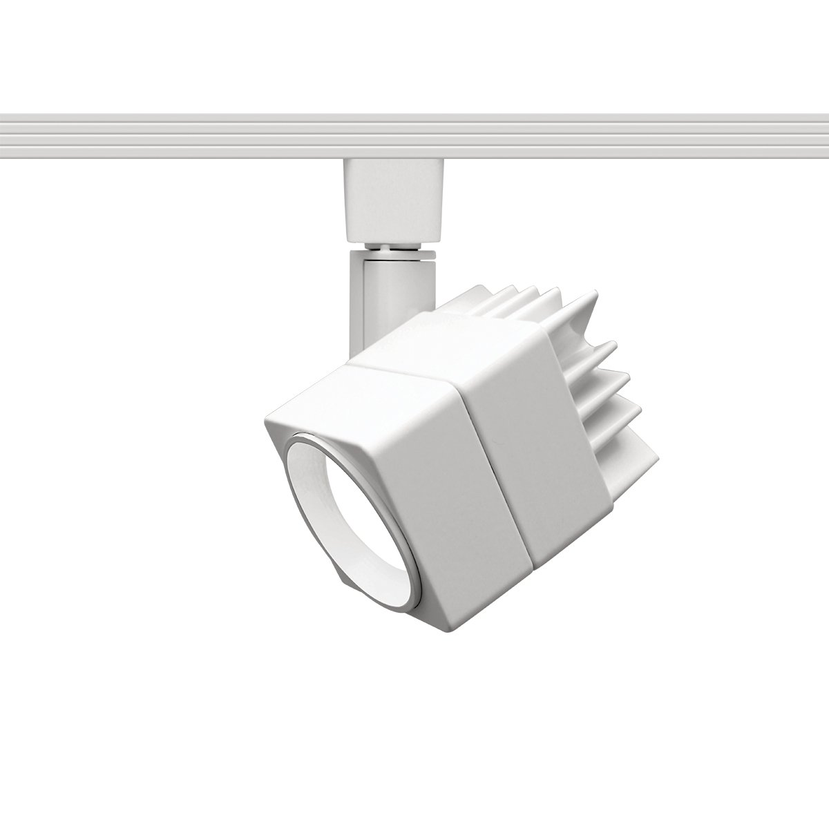WAC Lighting L-LED207-30-WT Contemporary Summit ACLED 15W Beamshift Line Voltage Cube L-Track Head by WAC Lighting (Image #1)