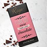 Rage I Love You More Than Chocolate Signature Chocolate - 90 Gms