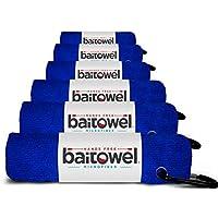 Bait Towel Pack of 6 Microfiber, 16